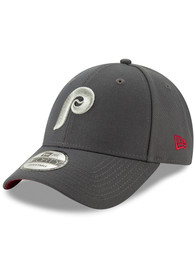 New Era Philadelphia Phillies Grey Coop JR The League 9FORTY Youth Adjustable Hat