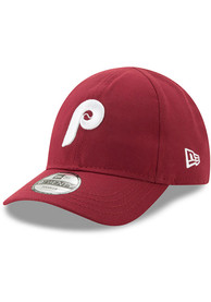 New Era Philadelphia Phillies Baby Coop My 1st 9TWENTY Adjustable Hat - Maroon