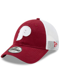 d116043a86f4e New Era Philadelphia Phillies Toddler Maroon Coop JR Team Truckered 9FORTY  Toddler Hat