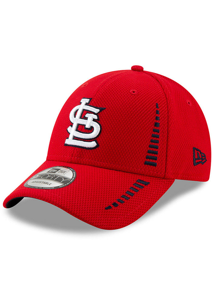 62ffd95e4 New Era St Louis Cardinals Red JR NE Speed DE 9FORTY Youth Adjustable Hat
