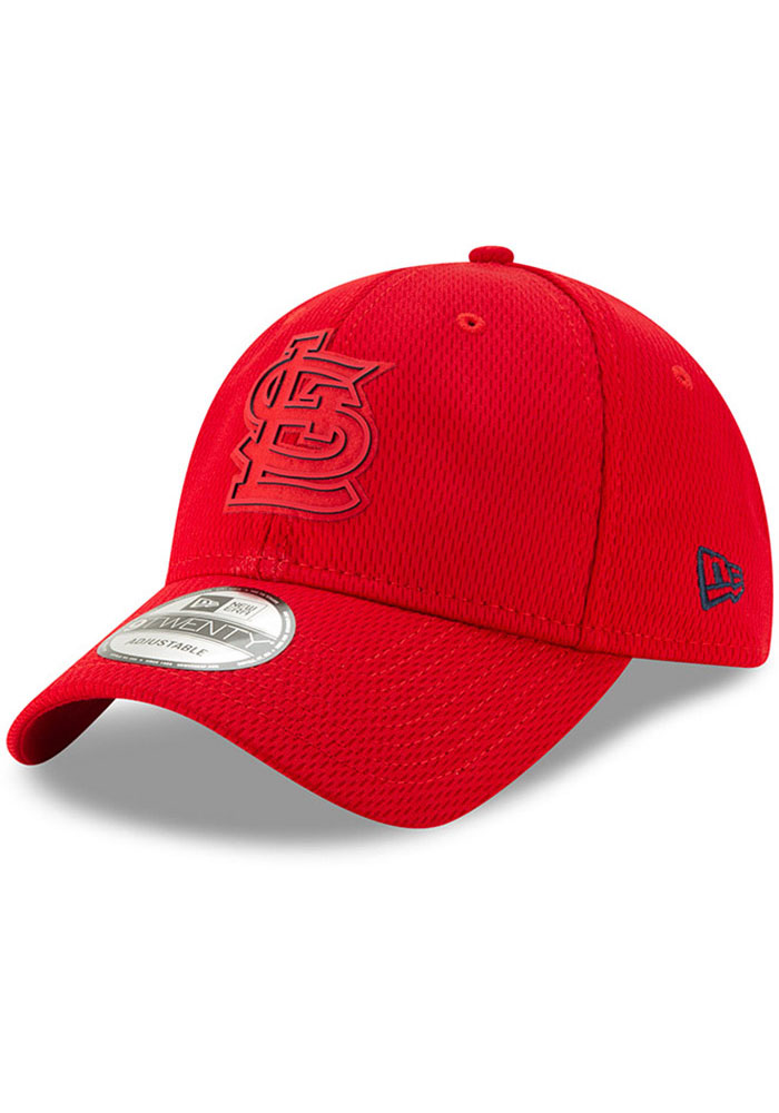 New Era St Louis Cardinals Red 2019 Clubhouse JR 9TWENTY Youth Adjustable Hat - Image 1
