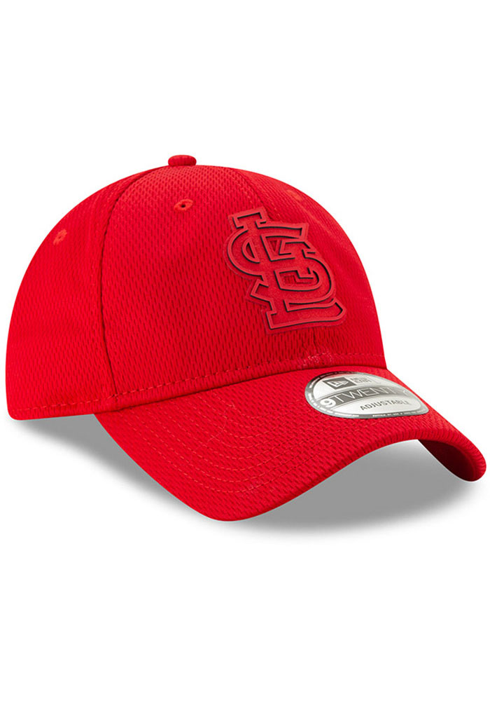 New Era St Louis Cardinals Red 2019 Clubhouse JR 9TWENTY Youth Adjustable Hat - Image 2