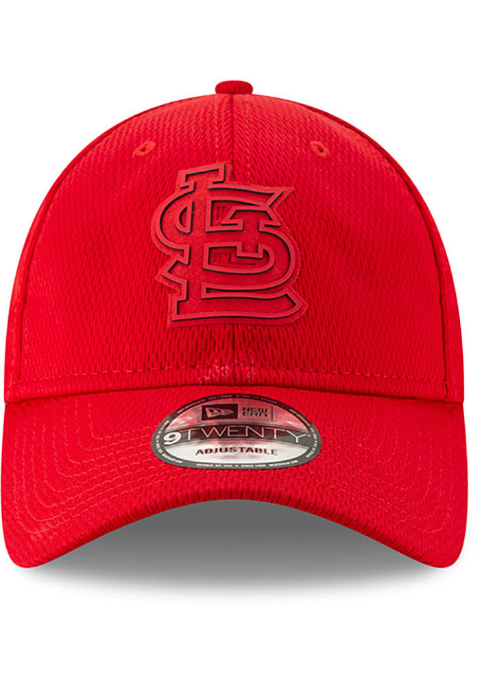 New Era St Louis Cardinals Red 2019 Clubhouse JR 9TWENTY Youth Adjustable Hat - Image 3