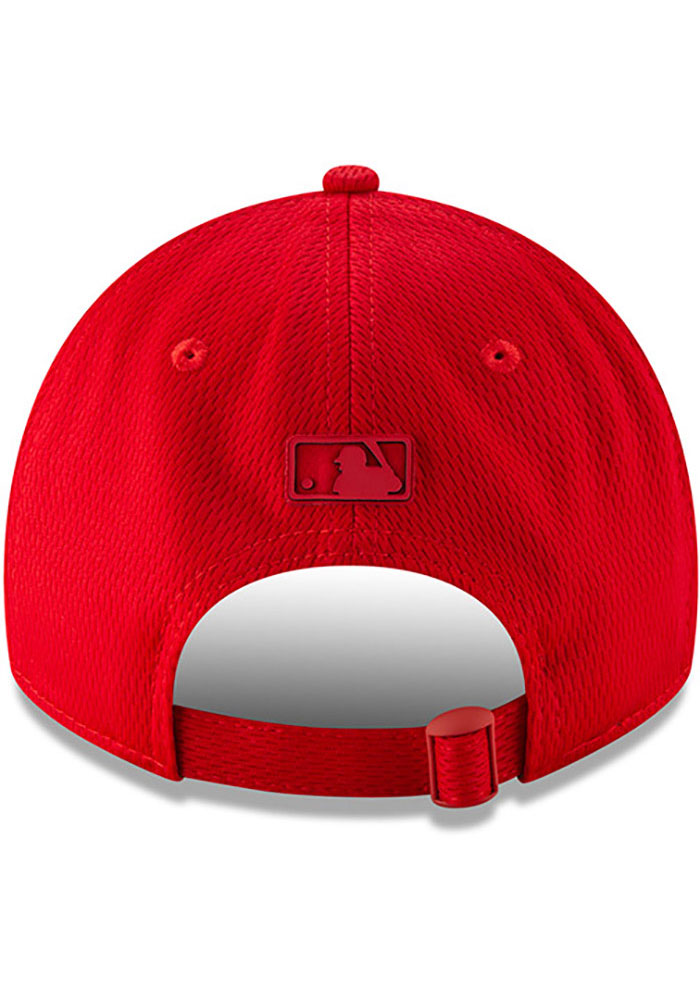 New Era St Louis Cardinals Red 2019 Clubhouse JR 9TWENTY Youth Adjustable Hat - Image 5