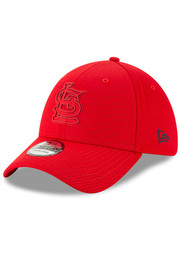 New Era St Louis Cardinals Red 2019 Clubhouse JR 39THIRTY Youth Flex Hat