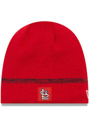 New Era St Louis Cardinals Red 2019 Clubhouse Jr Youth Knit Hat