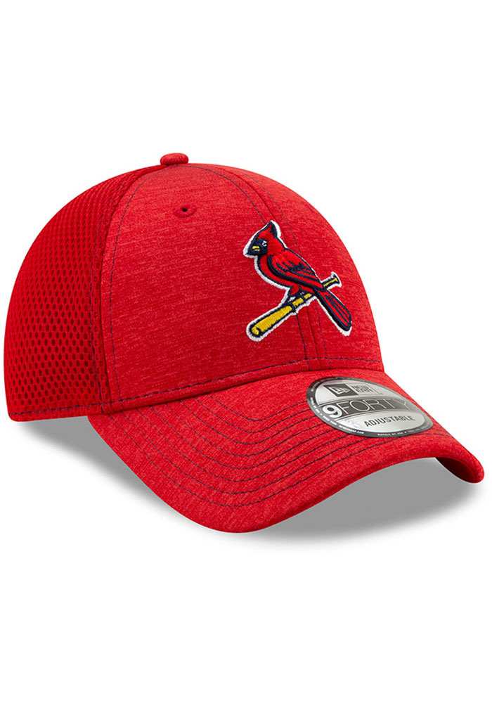 New Era St Louis Cardinals NE Team Tred 9FORTY Adjustable Hat - Red - Image 2