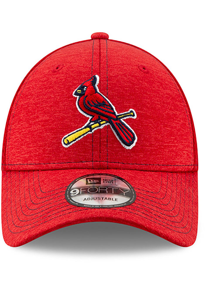 New Era St Louis Cardinals NE Team Tred 9FORTY Adjustable Hat - Red - Image 3