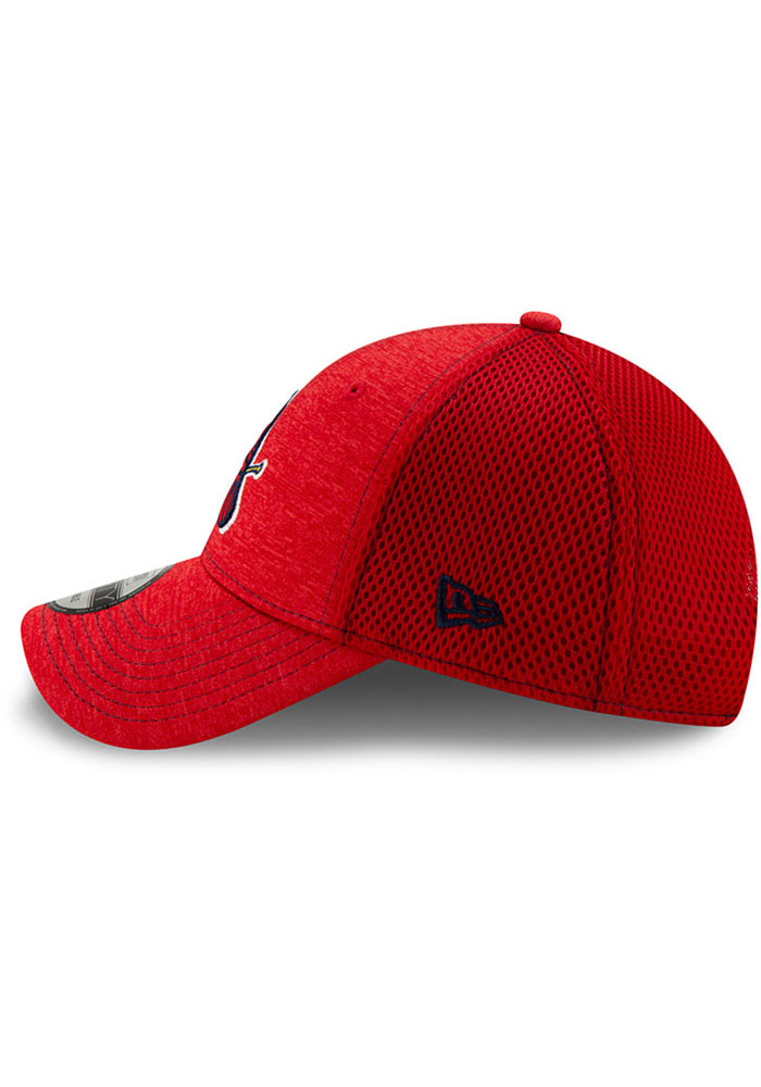 New Era St Louis Cardinals NE Team Tred 9FORTY Adjustable Hat - Red - Image 4