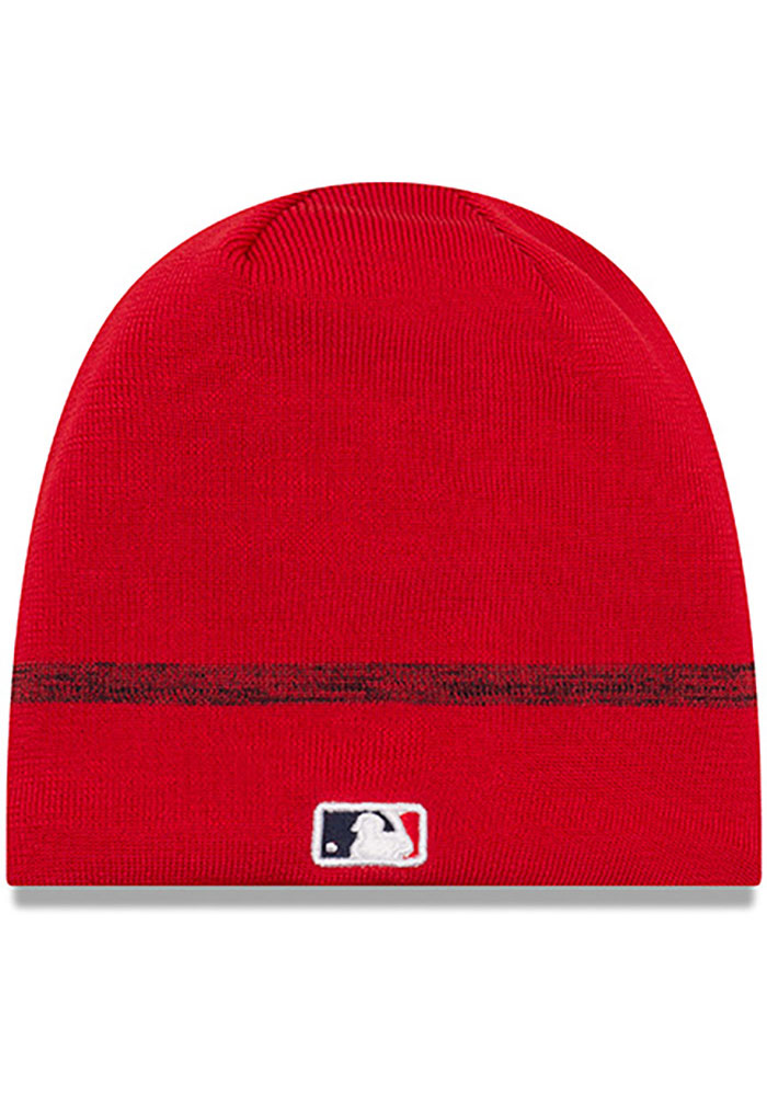 New Era St Louis Cardinals Red 2019 Clubhouse Mens Knit Hat - Image 2