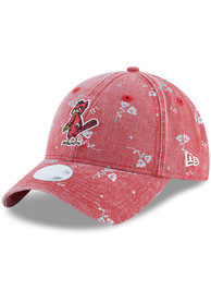 cheaper 8b31d 0baa3 New Era St Louis Cardinals Womens Red Coop Floral Shine 9TWENTY Adjustable  Hat
