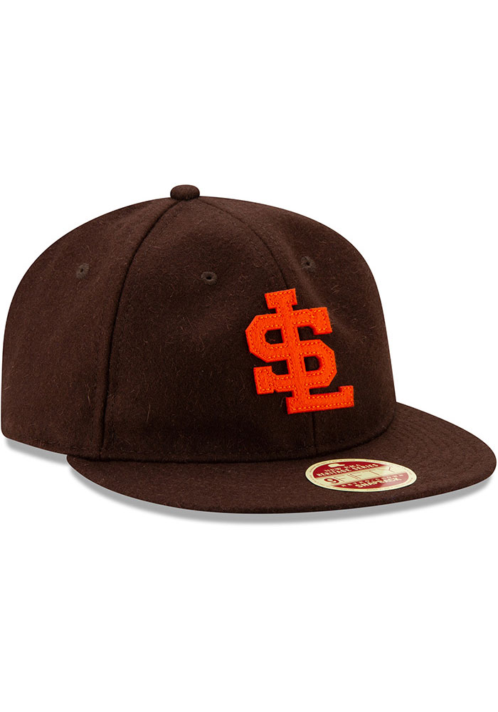New Era St Louis Browns Brown Heritage Series Authentics 1939 Retro-Crown 9FIFTY Mens Snapback Hat - Image 2