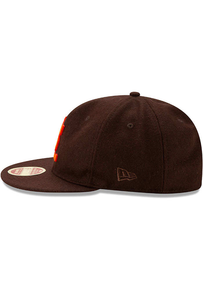 New Era St Louis Browns Brown Heritage Series Authentics 1939 Retro-Crown 9FIFTY Mens Snapback Hat - Image 4