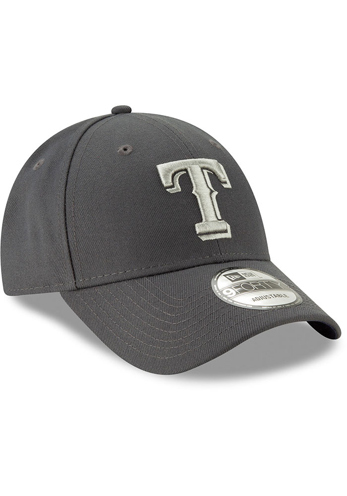 New Era Texas Rangers Grey JR The League 9FORTY Youth Adjustable Hat - Image 2
