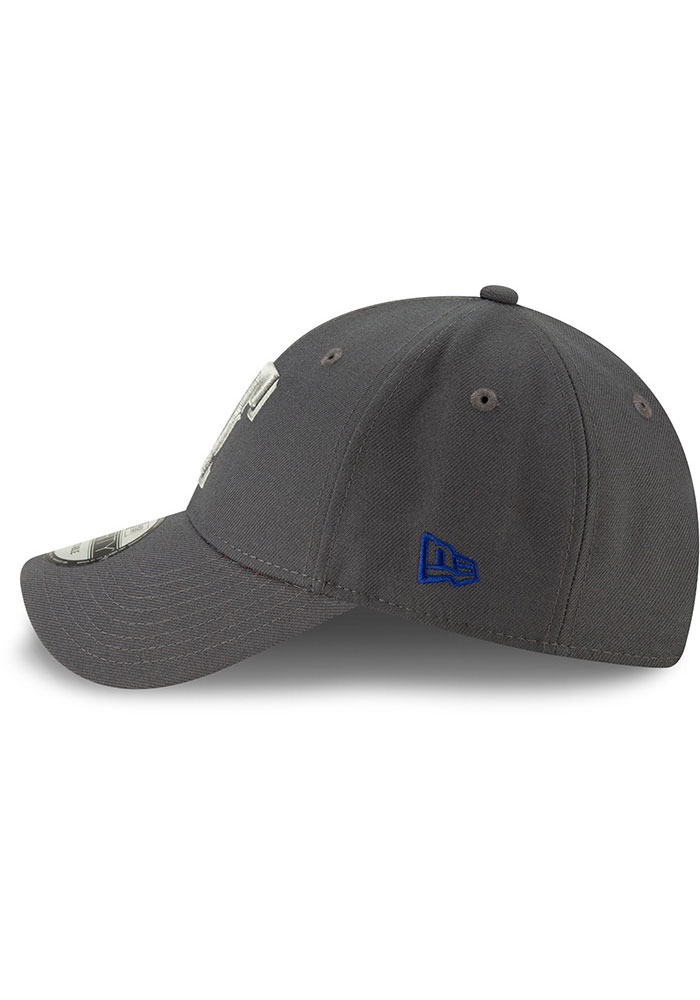 New Era Texas Rangers Grey JR The League 9FORTY Youth Adjustable Hat - Image 4