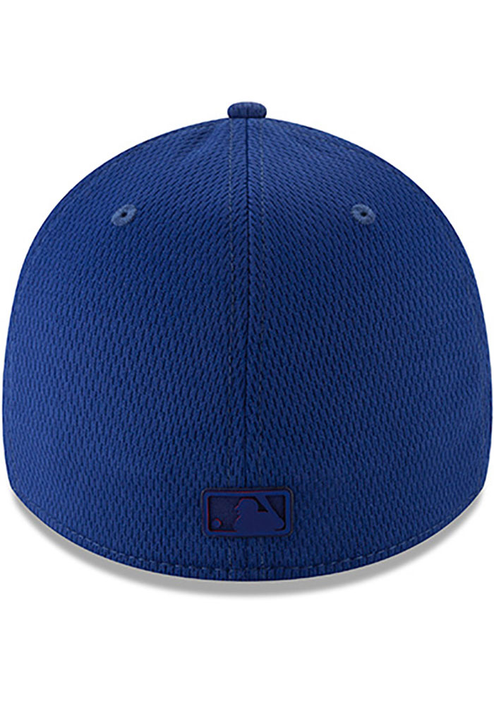 New Era Texas Rangers Mens Red 2019 Clubhouse 39THIRTY Flex Hat - Image 5