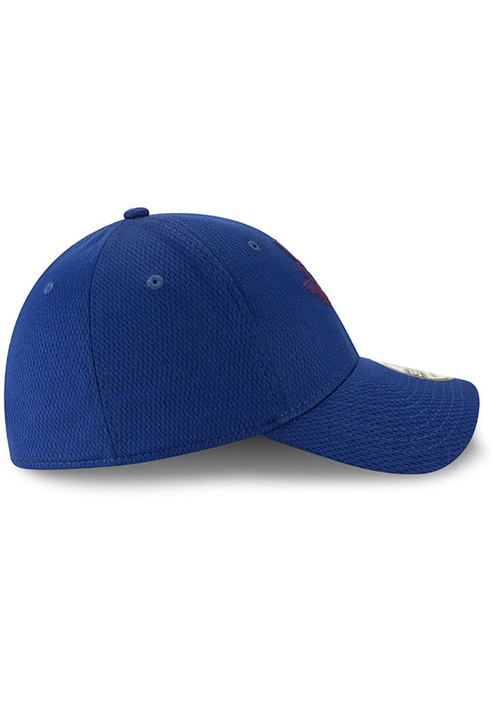 New Era Texas Rangers Mens Red 2019 Clubhouse 39THIRTY Flex Hat - Image 6