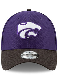 K-State Wildcats Toddler New Era JR Popped Shadow 2 39THIRTY Adjustable - Purple