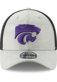 New Era K-State Wildcats Grey Camo Front Neo 39THIRTY Flex Hat