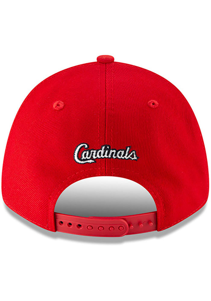 New Era St Louis Cardinals Loudmouth 9FORTY Adjustable Hat - Red - Image 5