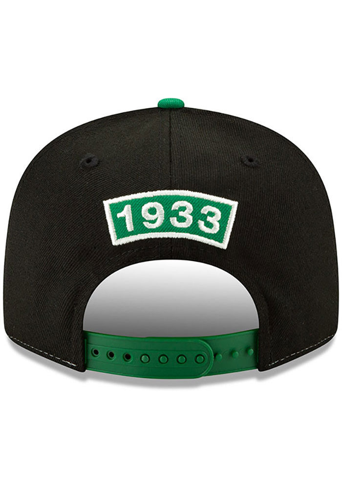 New Era Philadelphia Eagles Black Retro Paneled Team Pick 9FIFTY Mens Snapback Hat - Image 5