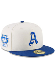 423fc37cc17302 Philadelphia Athletics New Era White 1929 World Series Side Patch 59FIFTY Fitted  Hat