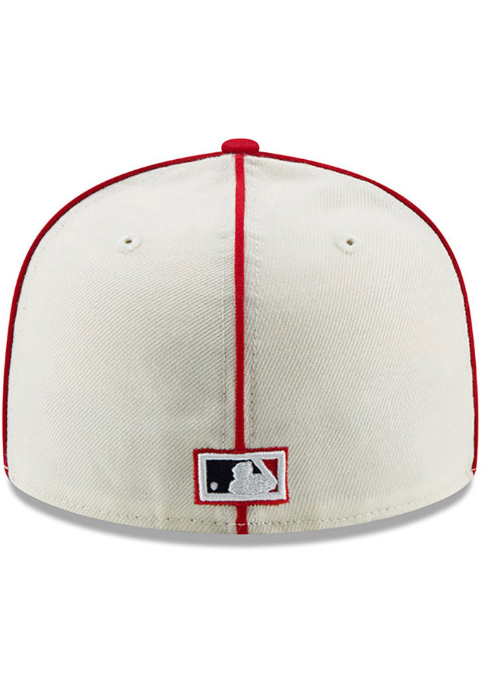 New Era St Louis Cardinals Mens White 1926 World Series Side Patch 59FIFTY Fitted Hat - Image 5