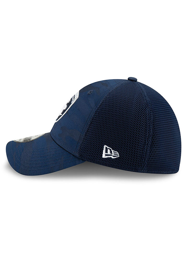 New Era Sporting Kansas City Mens Navy Blue Camo Front Neo 39 THIRTY Flex Hat - Image 4