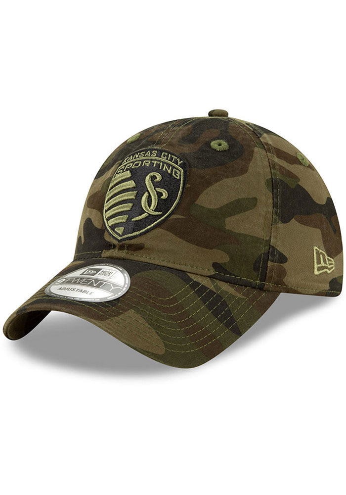 New Era Sporting Kansas City Core Classic 9TWENTY Adjustable Hat - Green