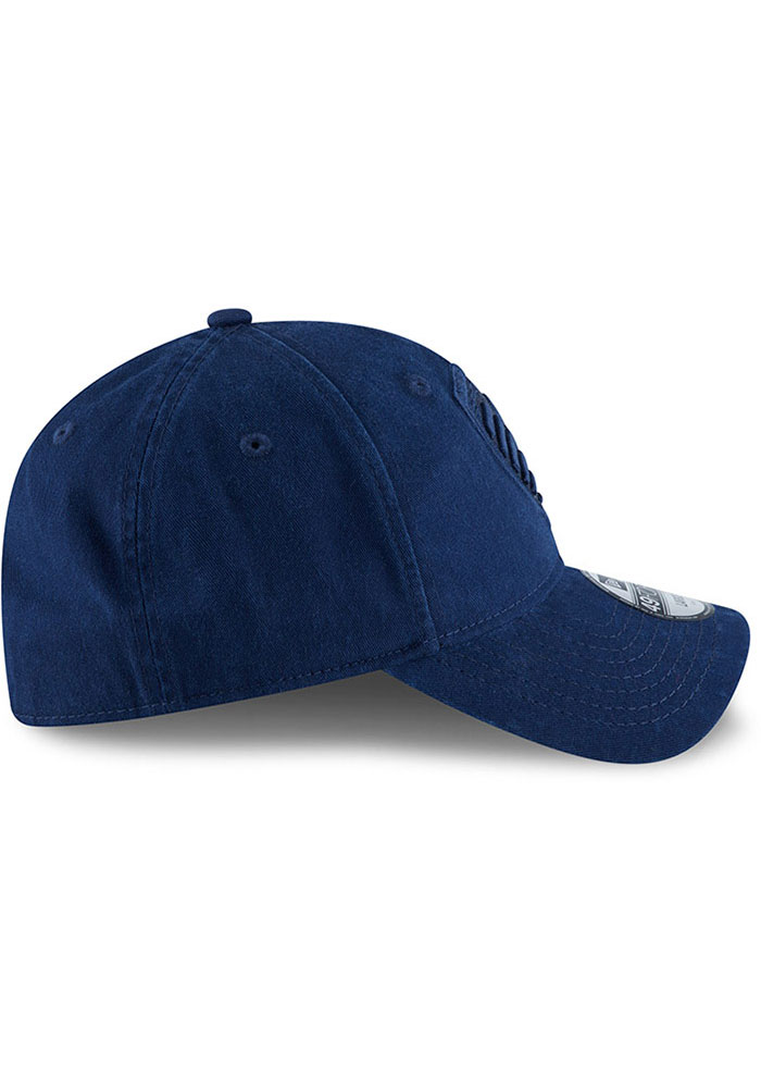 New Era Sporting Kansas City Mens Navy Blue NE Core Fit Tonal 49FORTY Fitted Hat - Image 6