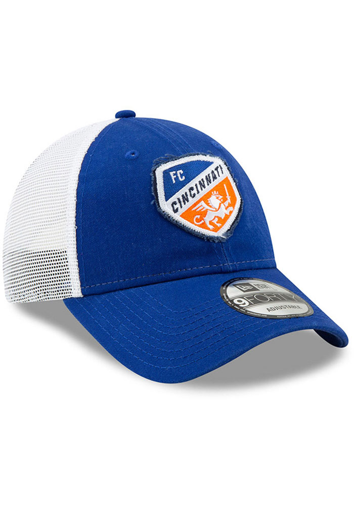 New Era FC Cincinnati Team Truckered 9FORTY Adjustable Hat - Blue - Image 2