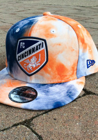 New Era FC Cincinnati Blue Color Disturbance 9FIFTY Snapback Hat