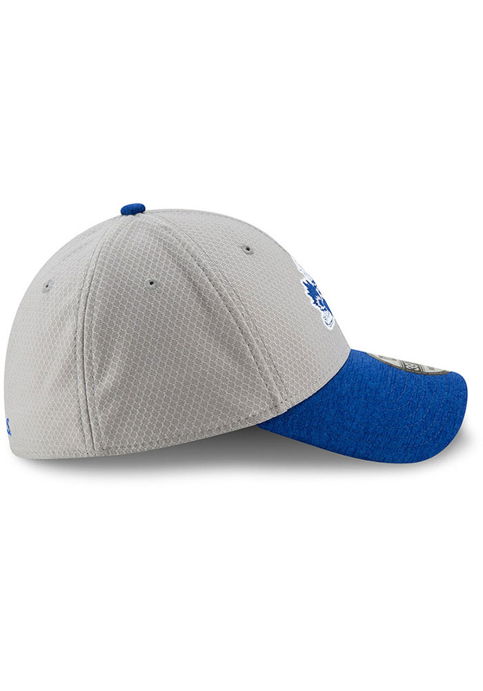 541ed8e0038 New Era Kansas Jayhawks Mens Grey Popped Shadow 39THIRTY Flex Hat - Image 4