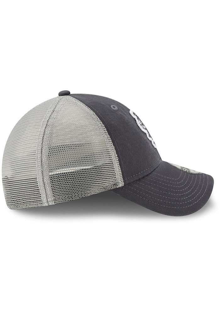 New Era St Louis Cardinals Team Truckered 9FORTY Adjustable Hat - Grey - Image 5