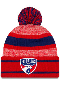 New Era FC Dallas Red Basic Marl Knit Hat