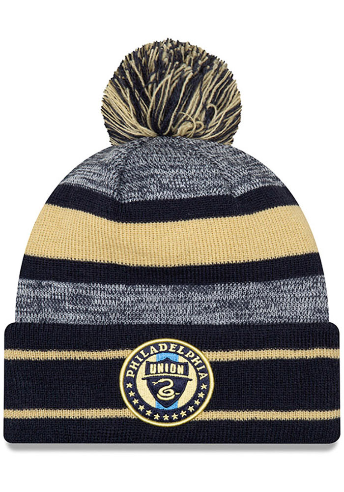 Philadelphia Union New Era Basic Marl Knit - Navy Blue
