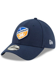 FC Cincinnati New Era Basic 39THIRTY Flex Hat - Navy Blue