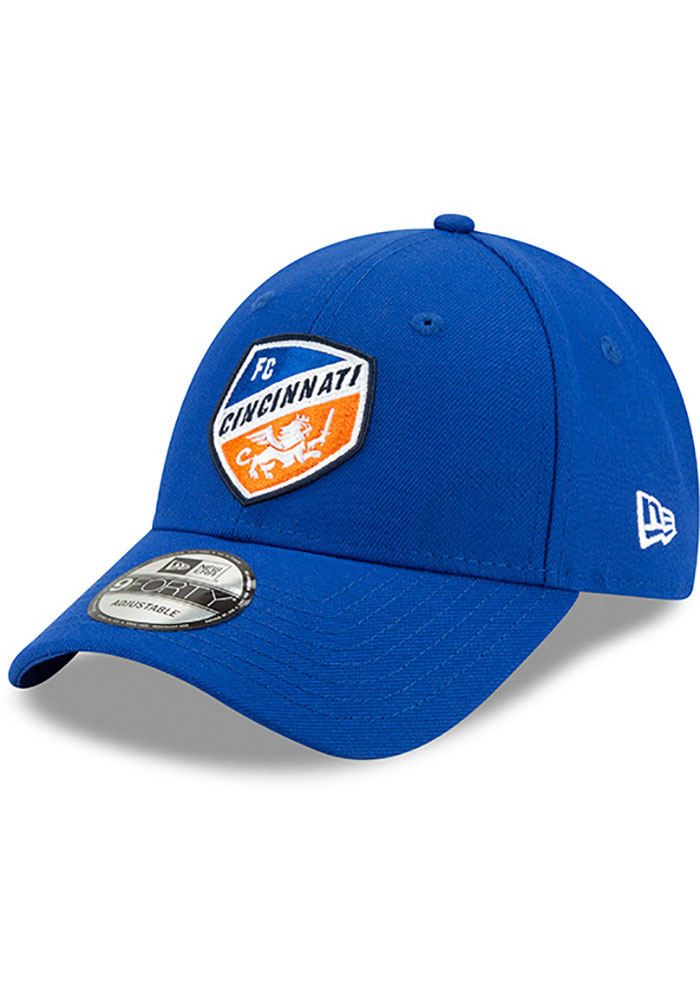 New Era FC Cincinnati Basic 9FORTY Adjustable Hat - Blue
