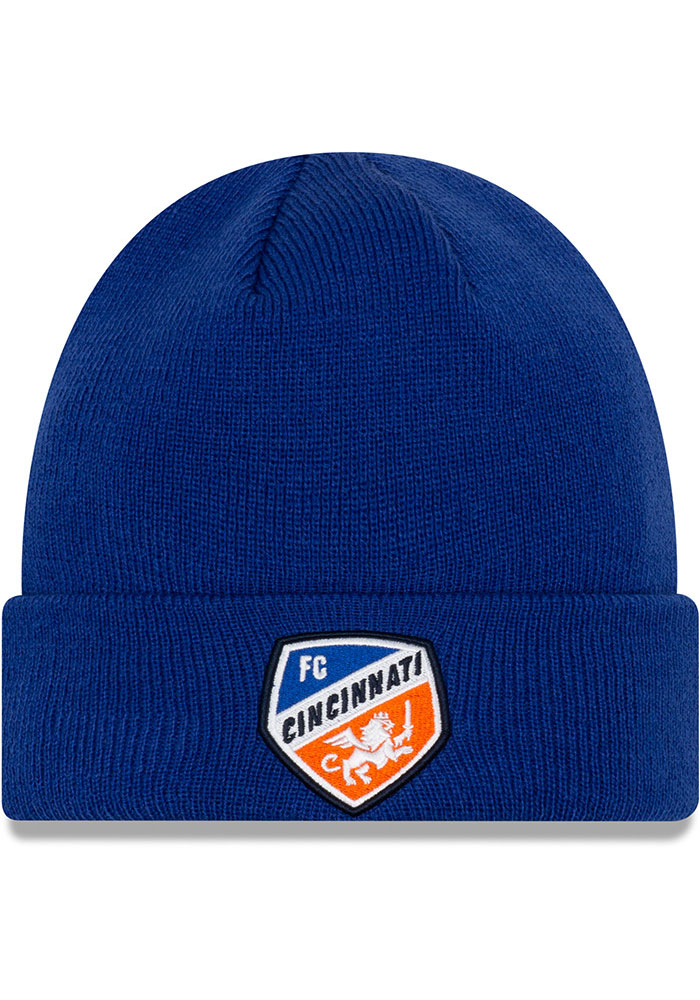 FC Cincinnati New Era Basic Cuff Knit - Blue