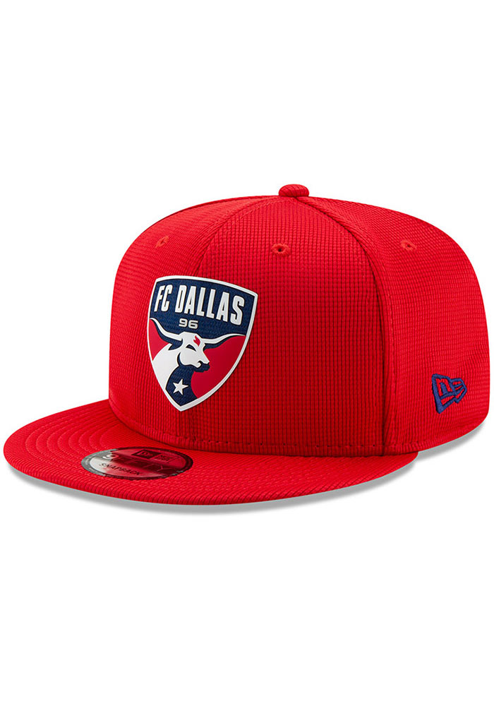 New Era FC Dallas Red 2019 Official 9FIFTY Mens Snapback Hat - Image 1