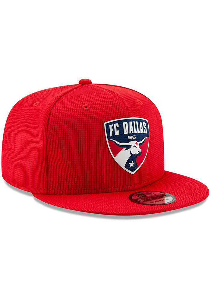 New Era FC Dallas Red 2019 Official 9FIFTY Mens Snapback Hat - Image 2