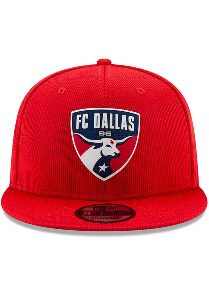 New Era FC Dallas Red 2019 Official 9FIFTY Mens Snapback Hat - Image 3