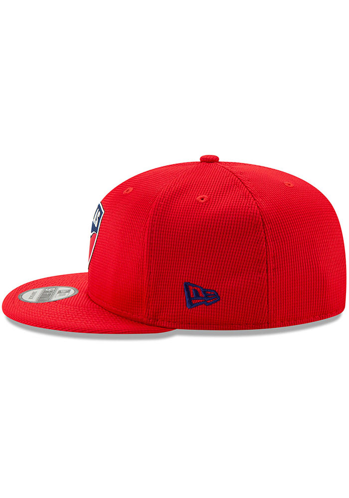 New Era FC Dallas Red 2019 Official 9FIFTY Mens Snapback Hat - Image 4