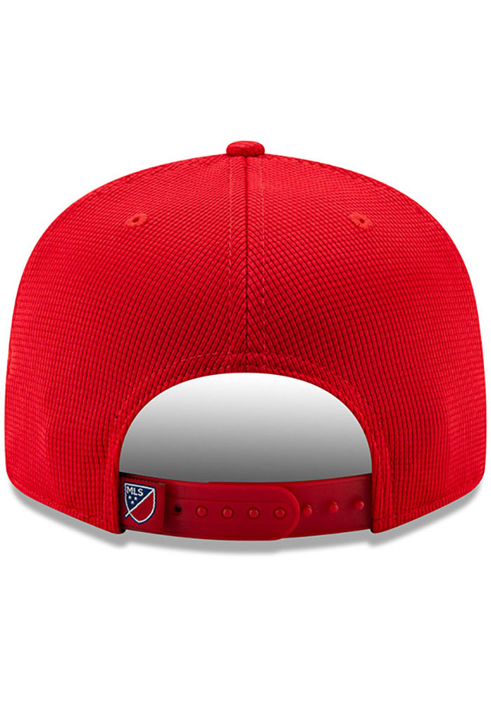 New Era FC Dallas Red 2019 Official 9FIFTY Mens Snapback Hat - Image 5