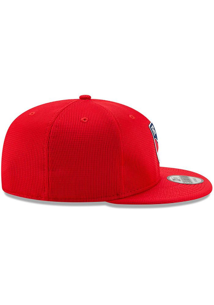 New Era FC Dallas Red 2019 Official 9FIFTY Mens Snapback Hat - Image 6