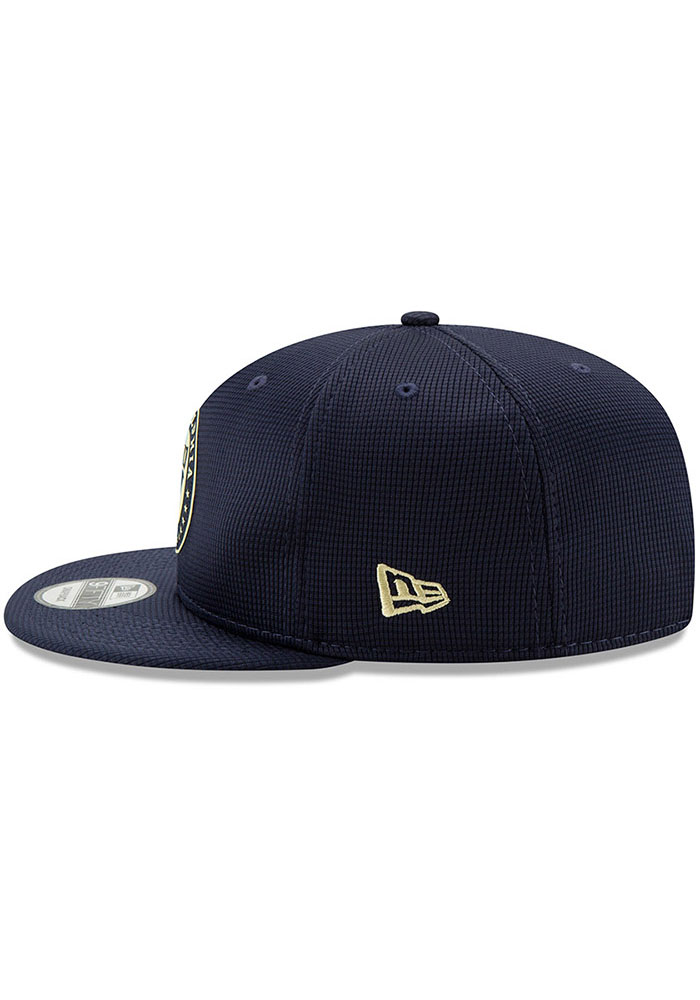 New Era Philadelphia Union Navy Blue 2019 Official 9FIFTY Mens Snapback Hat - Image 3