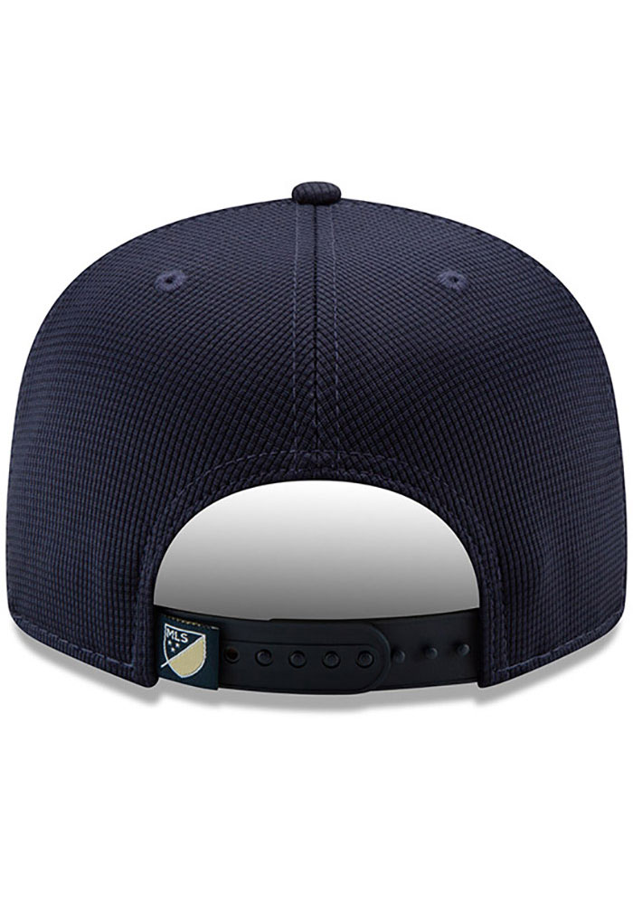 New Era Philadelphia Union Navy Blue 2019 Official 9FIFTY Mens Snapback Hat - Image 4