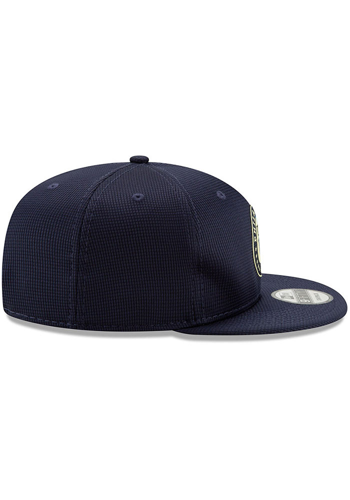New Era Philadelphia Union Navy Blue 2019 Official 9FIFTY Mens Snapback Hat - Image 5