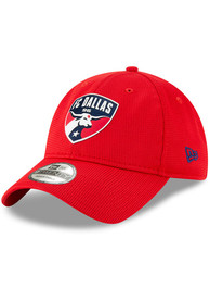 New Era FC Dallas 2019 Official 9TWENTY Adjustable Hat - Red