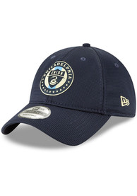 New Era Philadelphia Union 2019 Official 9TWENTY Adjustable Hat - Navy Blue